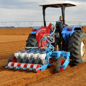 4, 6 or 8 Row lift planter frame